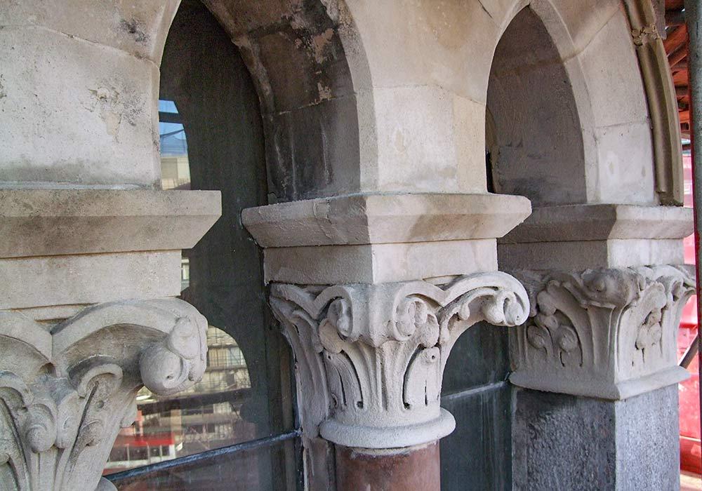 Old buliding concrete repair