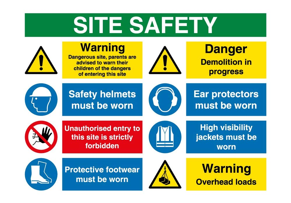 health and safety safe environment procedures site