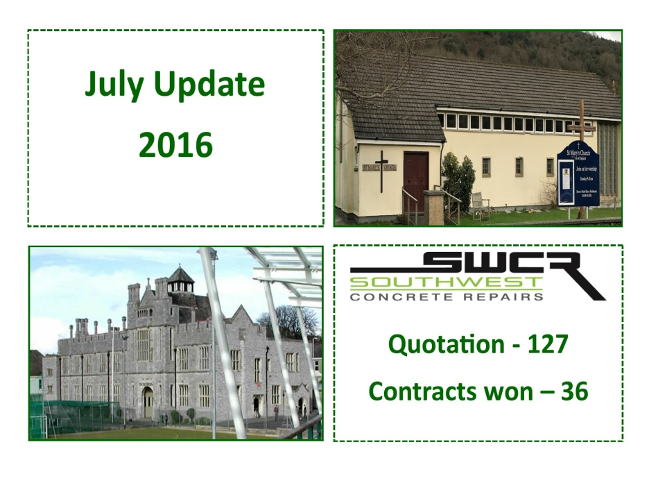 July Update graphic